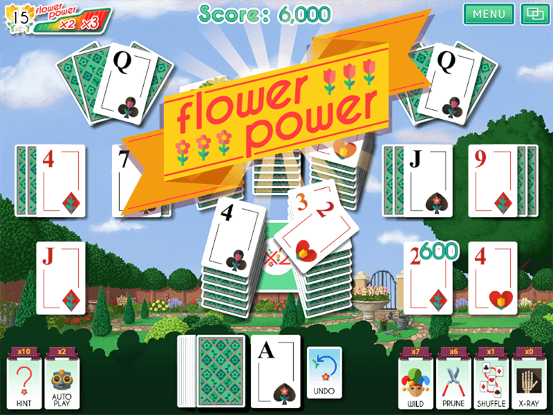 Solitaire Gardens Screenshot